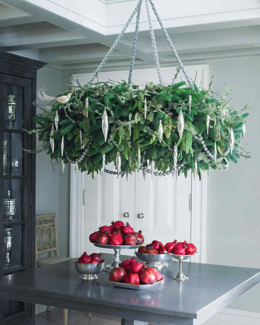 Holiday wreath chandelier martha stewart aloadofball Gallery