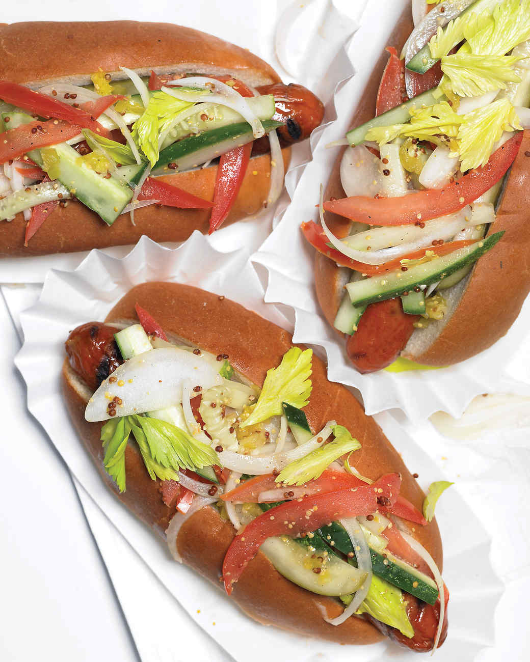 Chicago-Style Hot Dogs