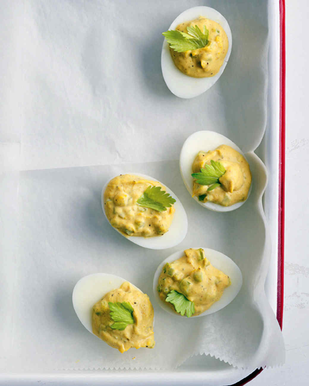 Old Bay Deviled Eggs