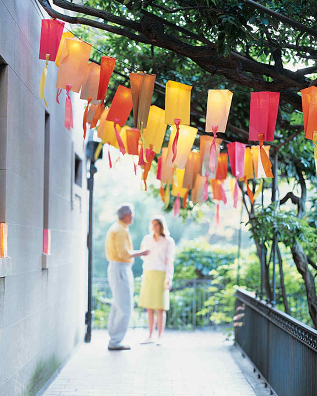Paper-Bag Party Lights