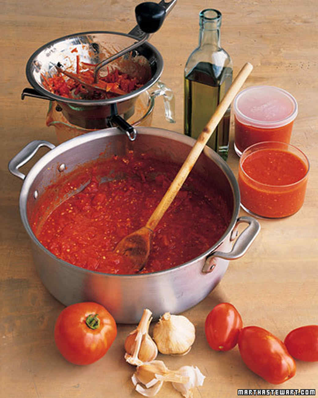 Simple Tomato Sauce Recipe | Martha Stewart