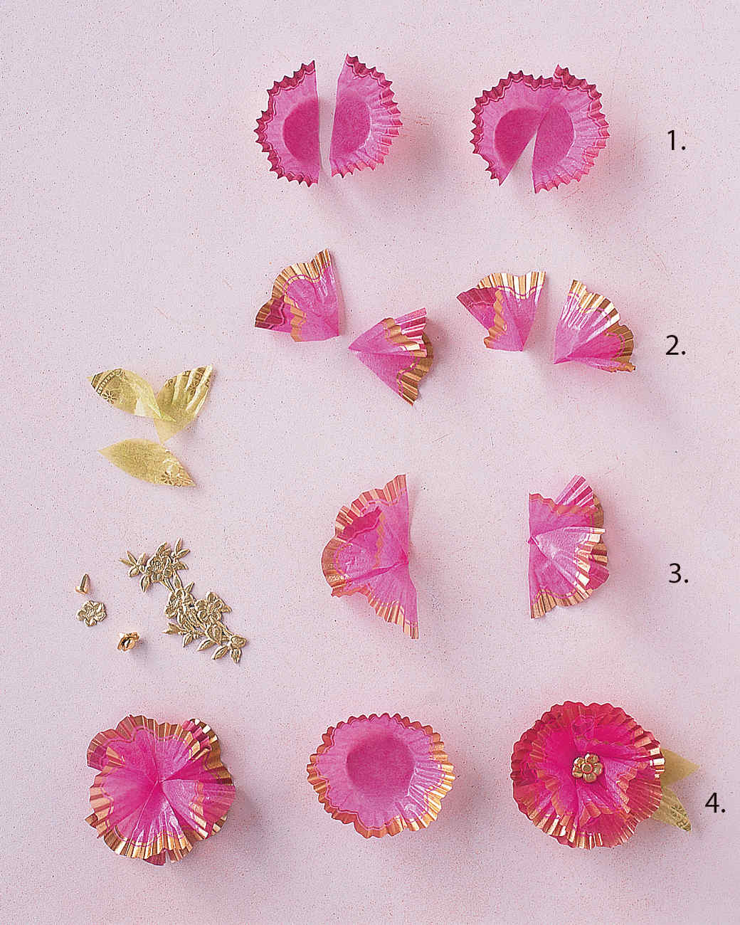 How To Make Flower With Paper Kubreforic