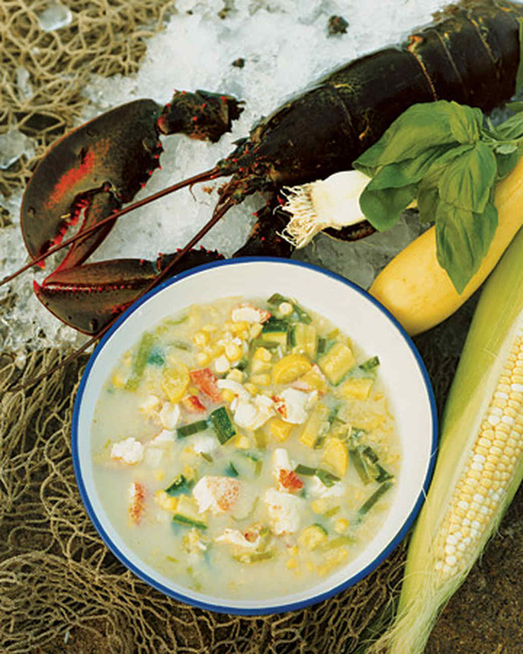 Maine Lobster and Corn Chowder