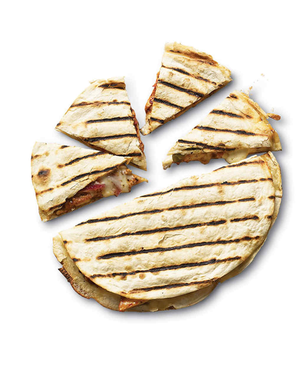 Adobo-Marinated Chicken Quesadillas