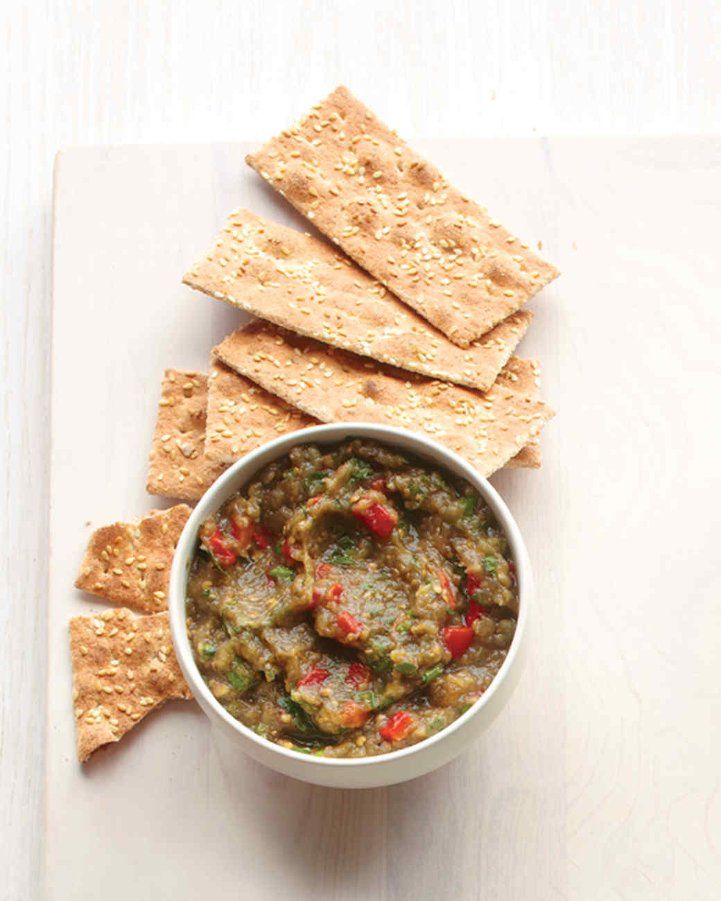 Caponata with Flatbread