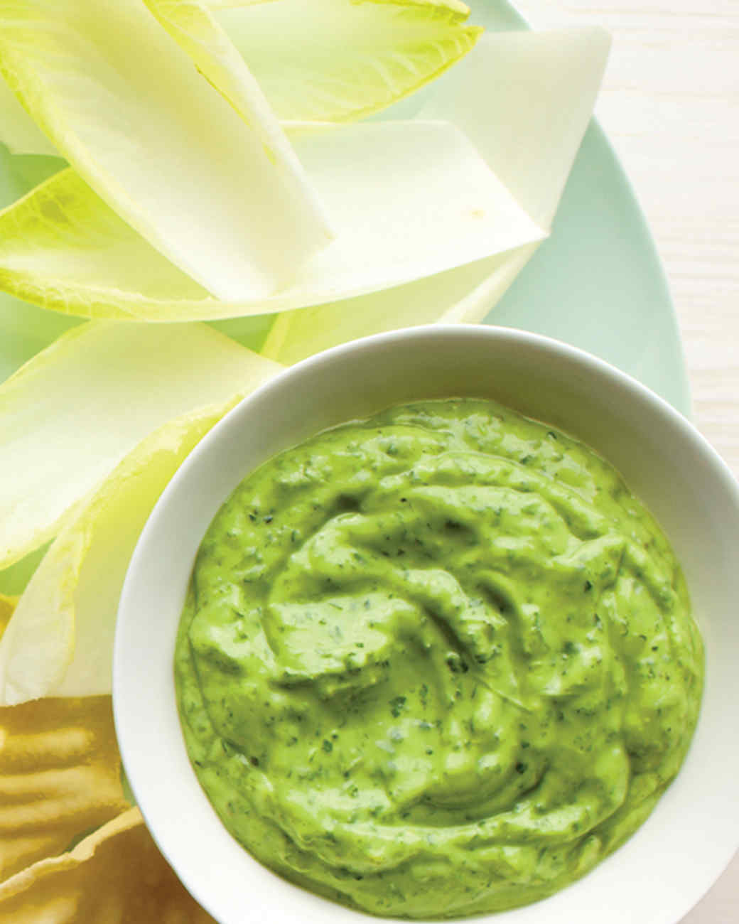 Green Goddess Dip with Endive