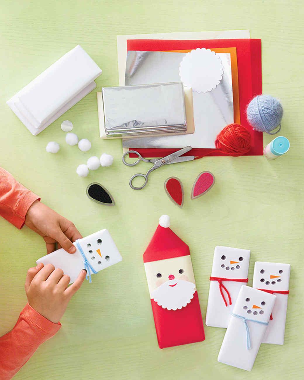 Santa and Snowmen Bars