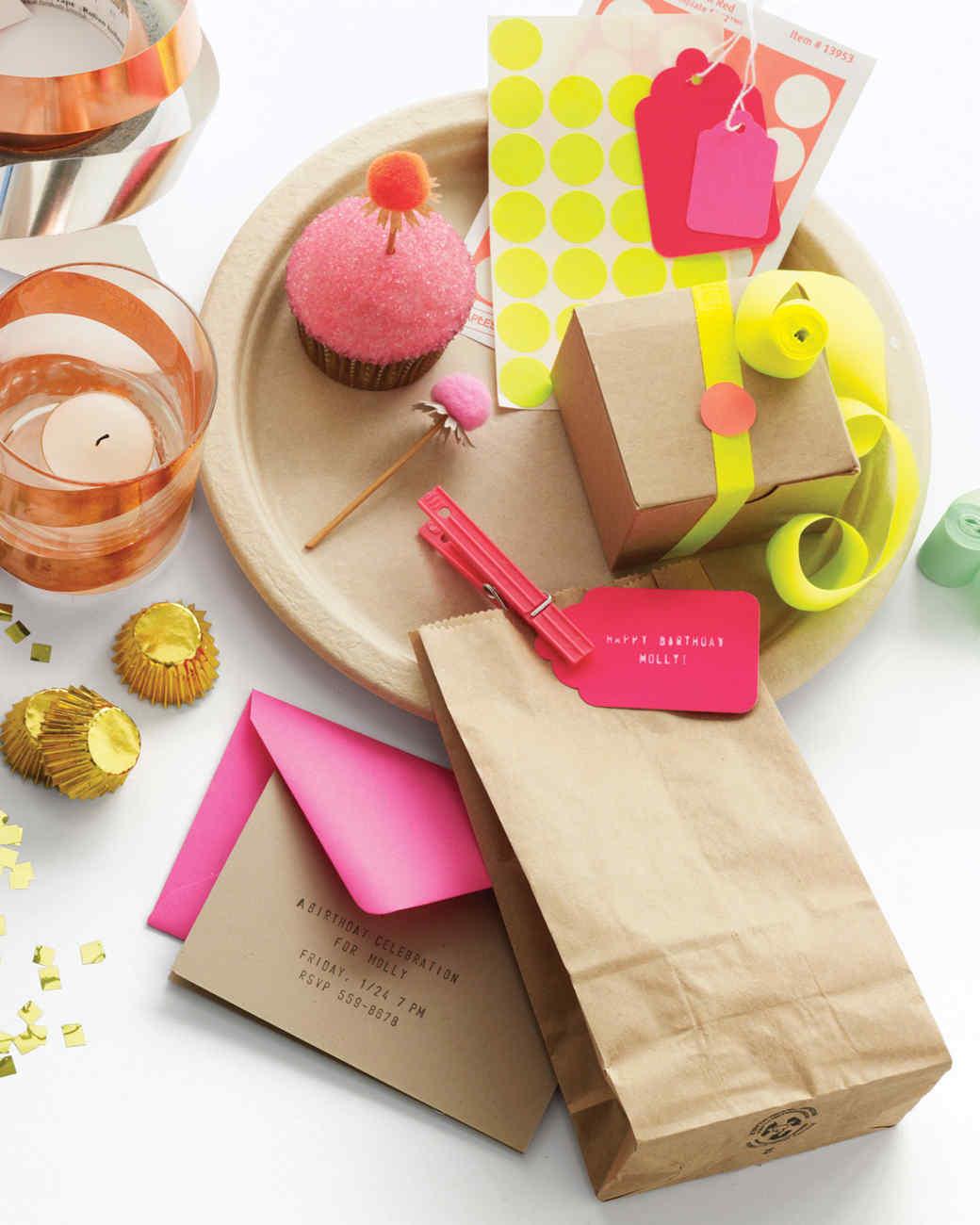 GrownUp Birthday Party Ideas Martha Stewart