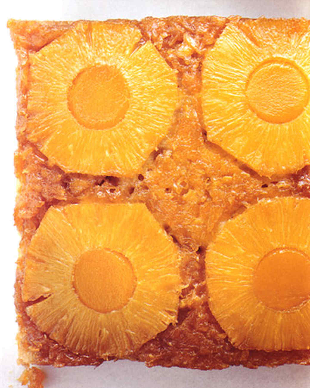 Pineapple-Mango Upside-Down Cake