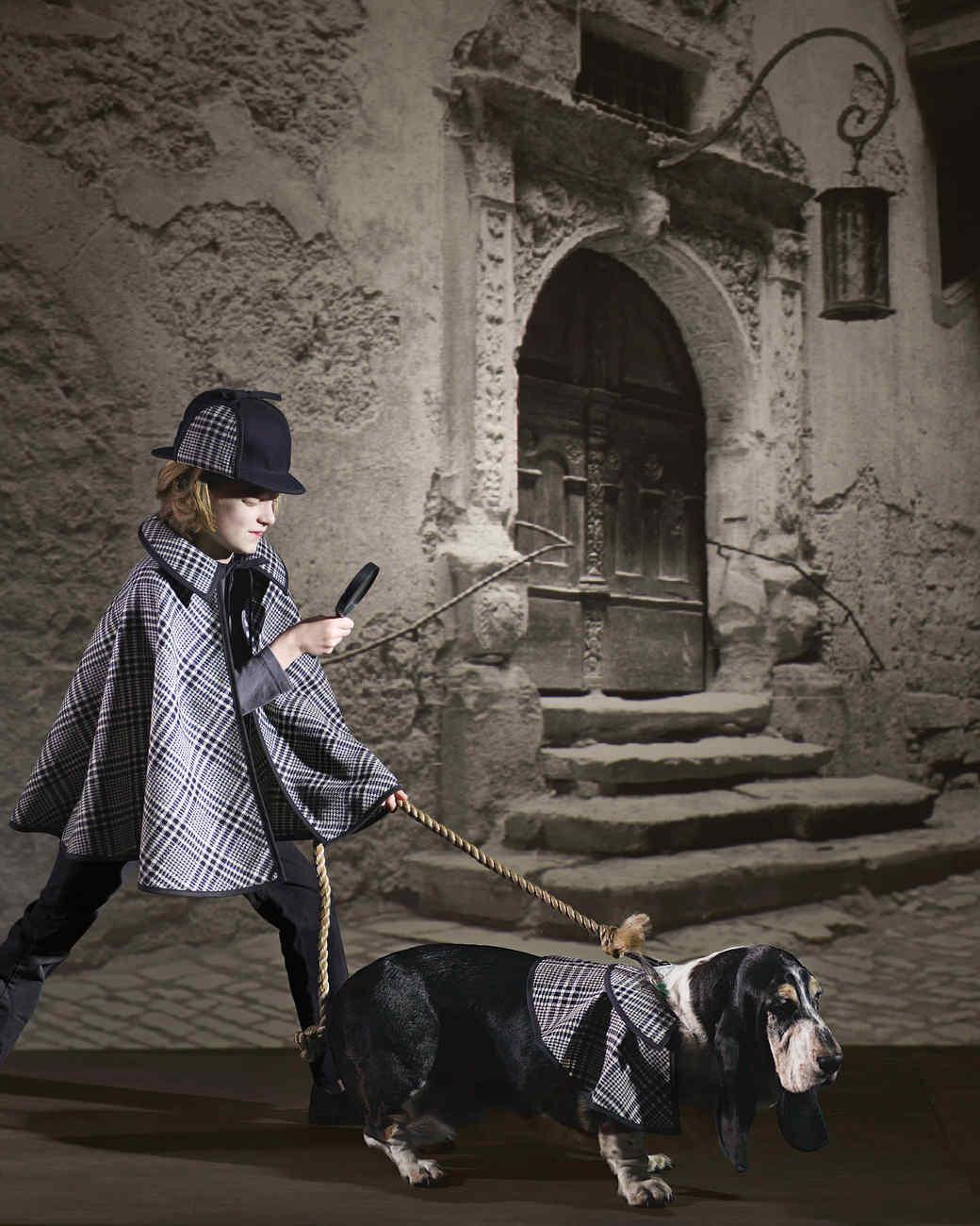 Detective and Hound Costume