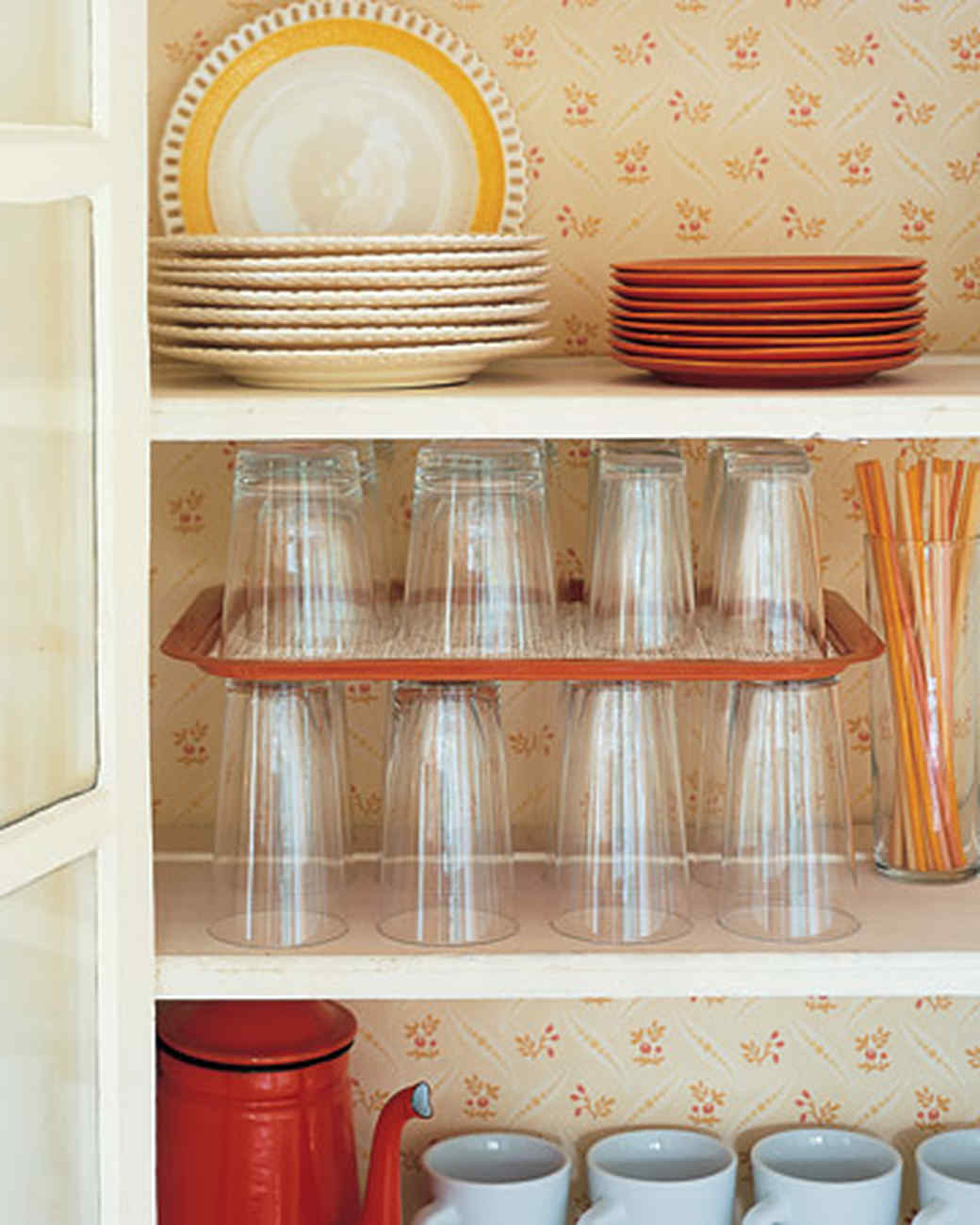 Organize Your Kitchen Cabinets In Easy Steps Martha Stewart - How to organize kitchen cabinets martha stewart