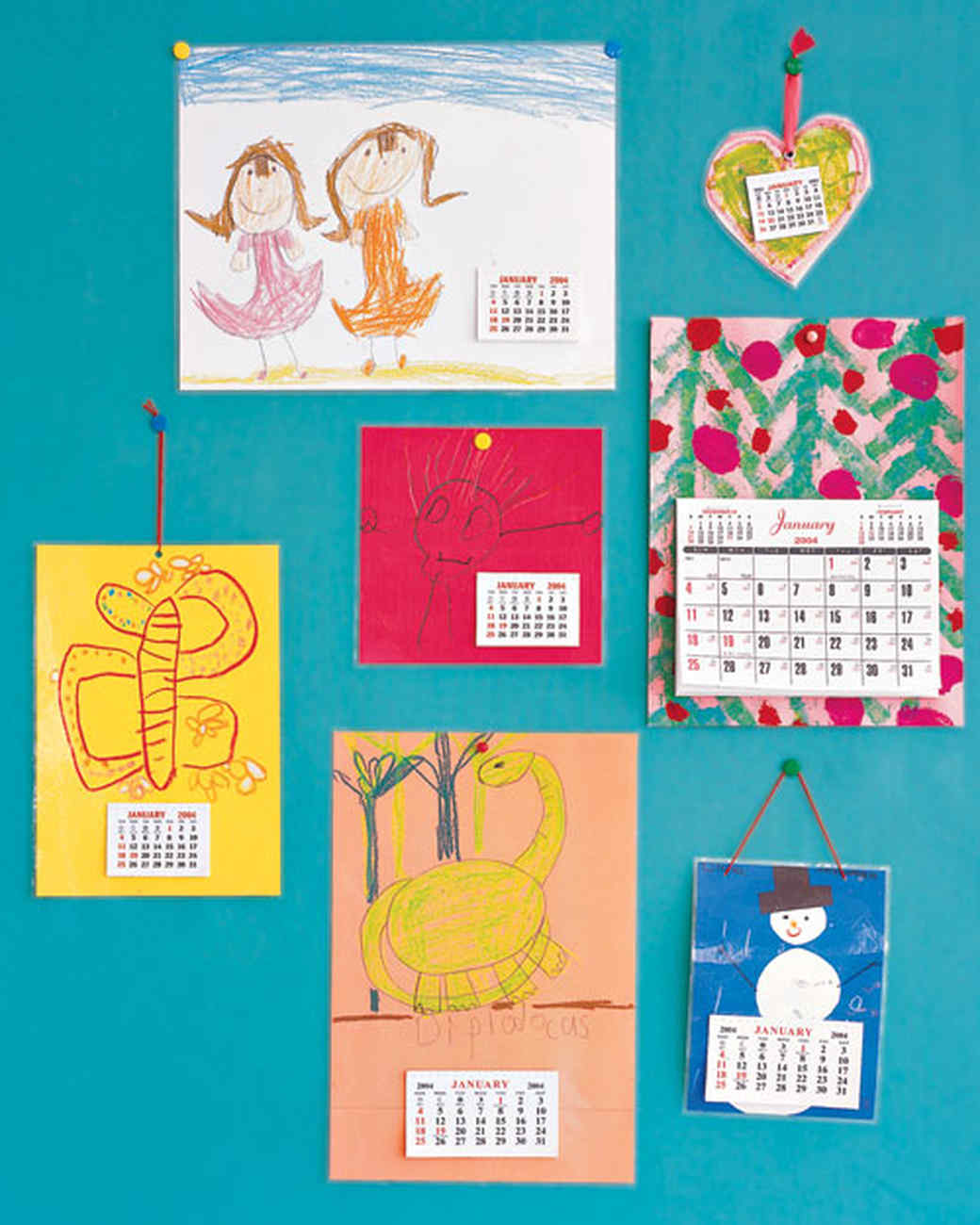 Calendar Craft Ideas Ks : Christmas gifts kids can make for parents grandparents