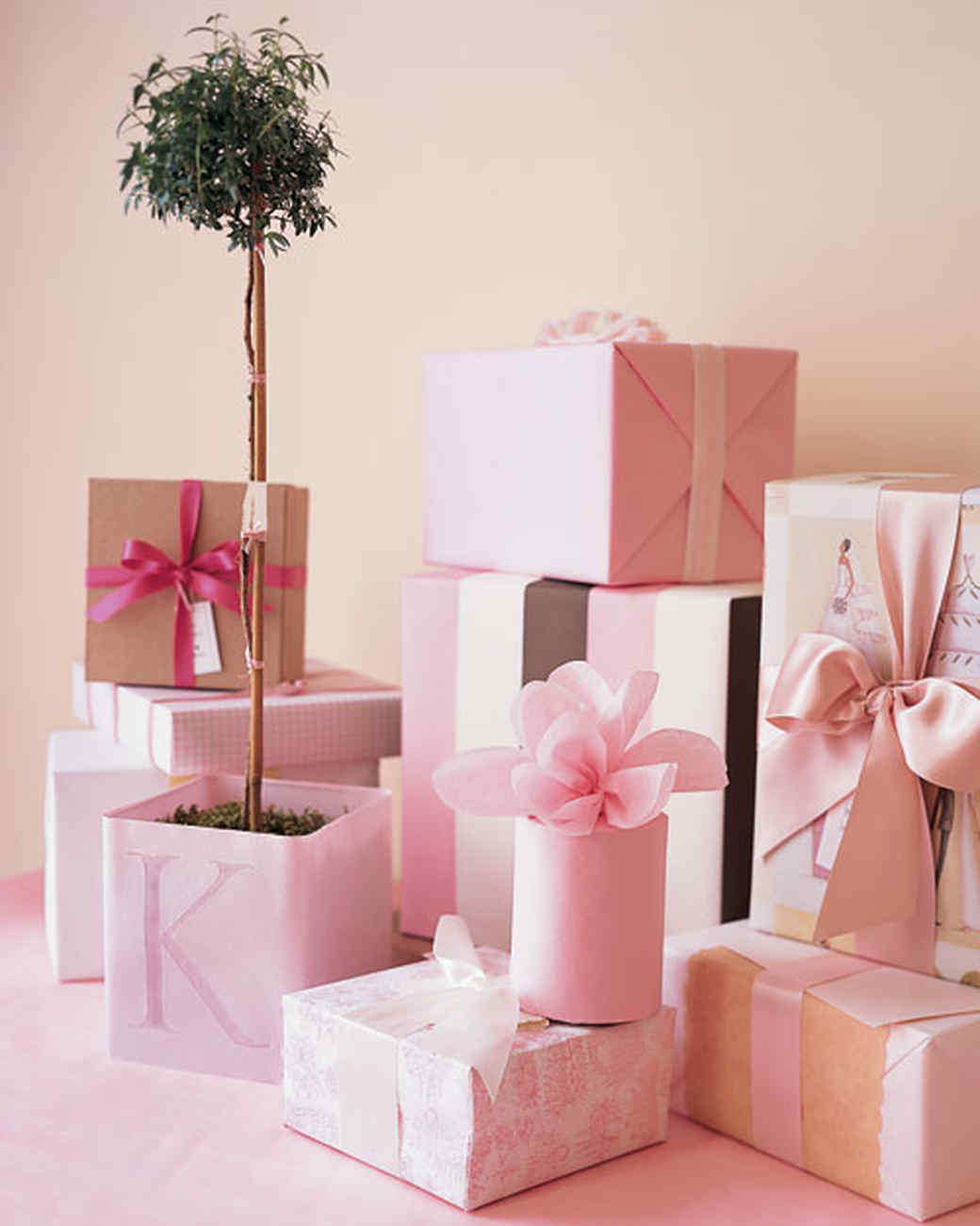 Pink Baby Shower Decor and Favor Ideas | Martha Stewart