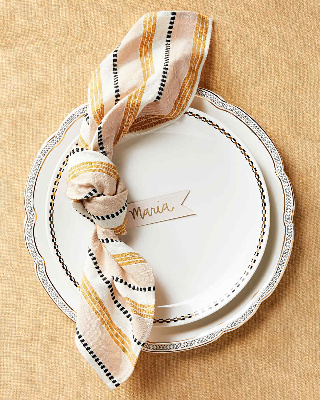 How To Fold A Napkin 15 Ways Martha Stewart