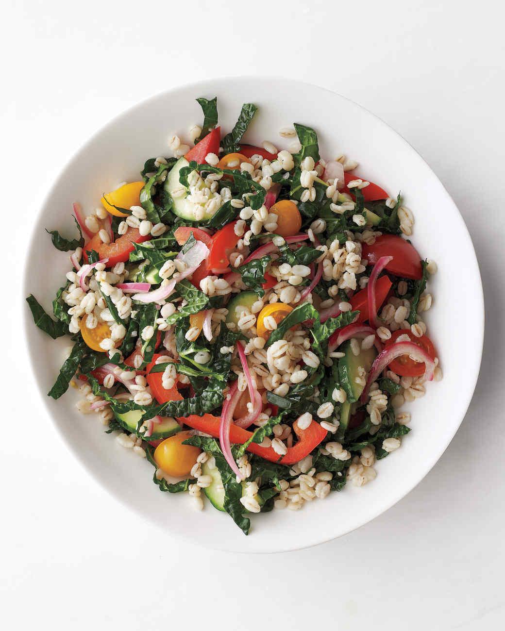 Vegetable-Barley Salad