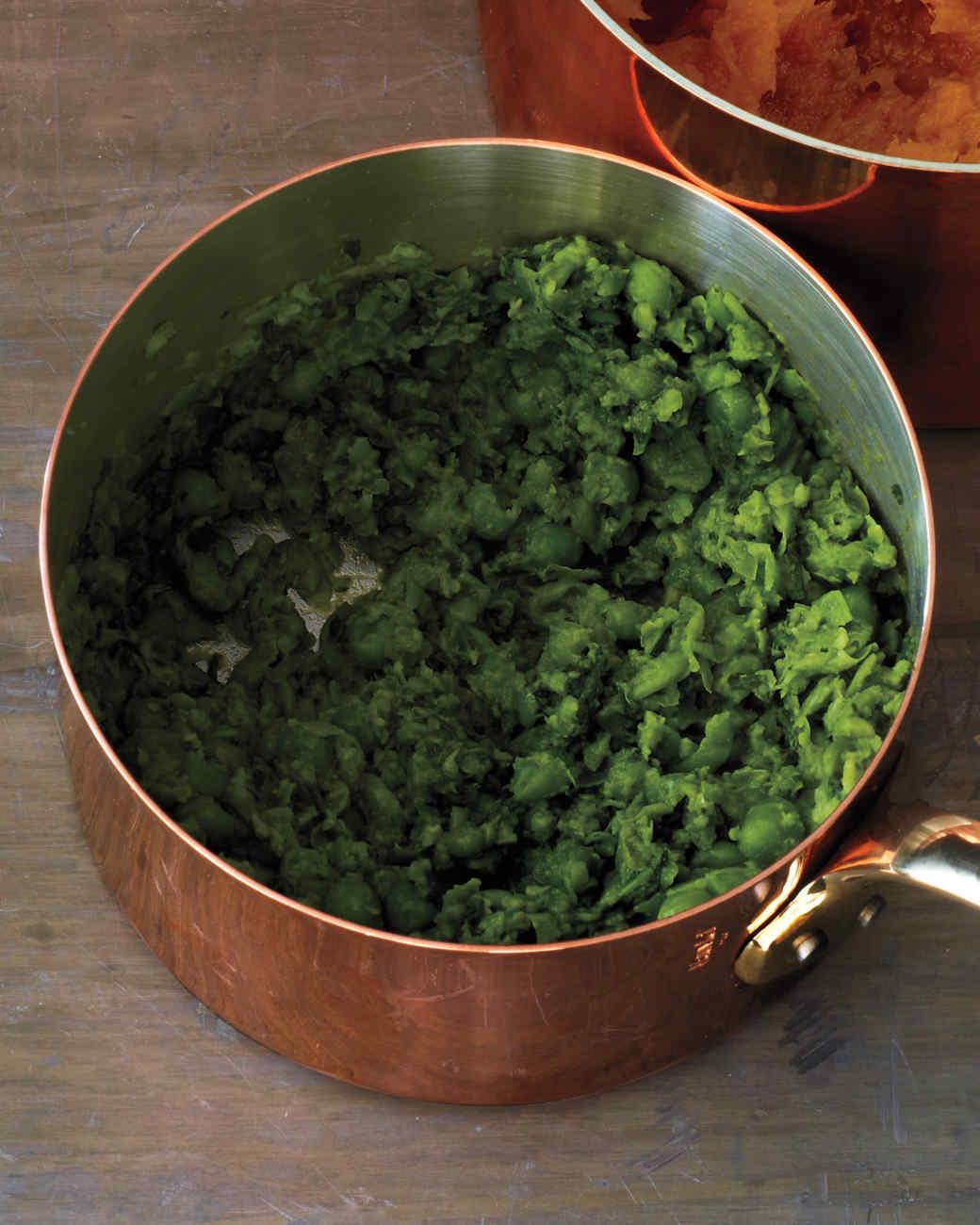Pea-Spinach Mash
