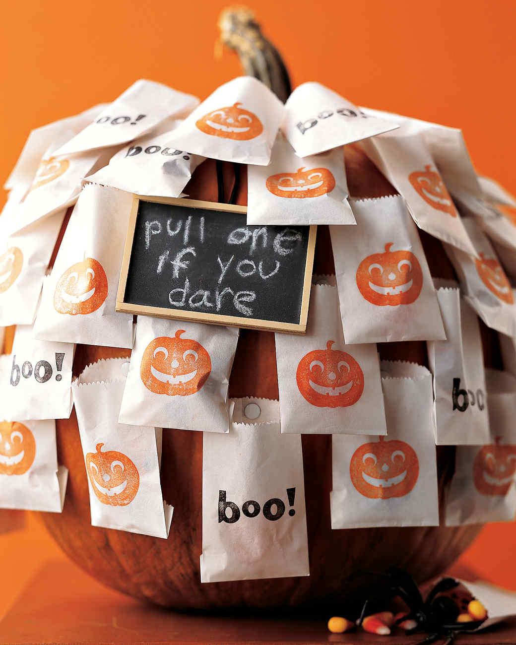 Self-Serve Halloween Treats