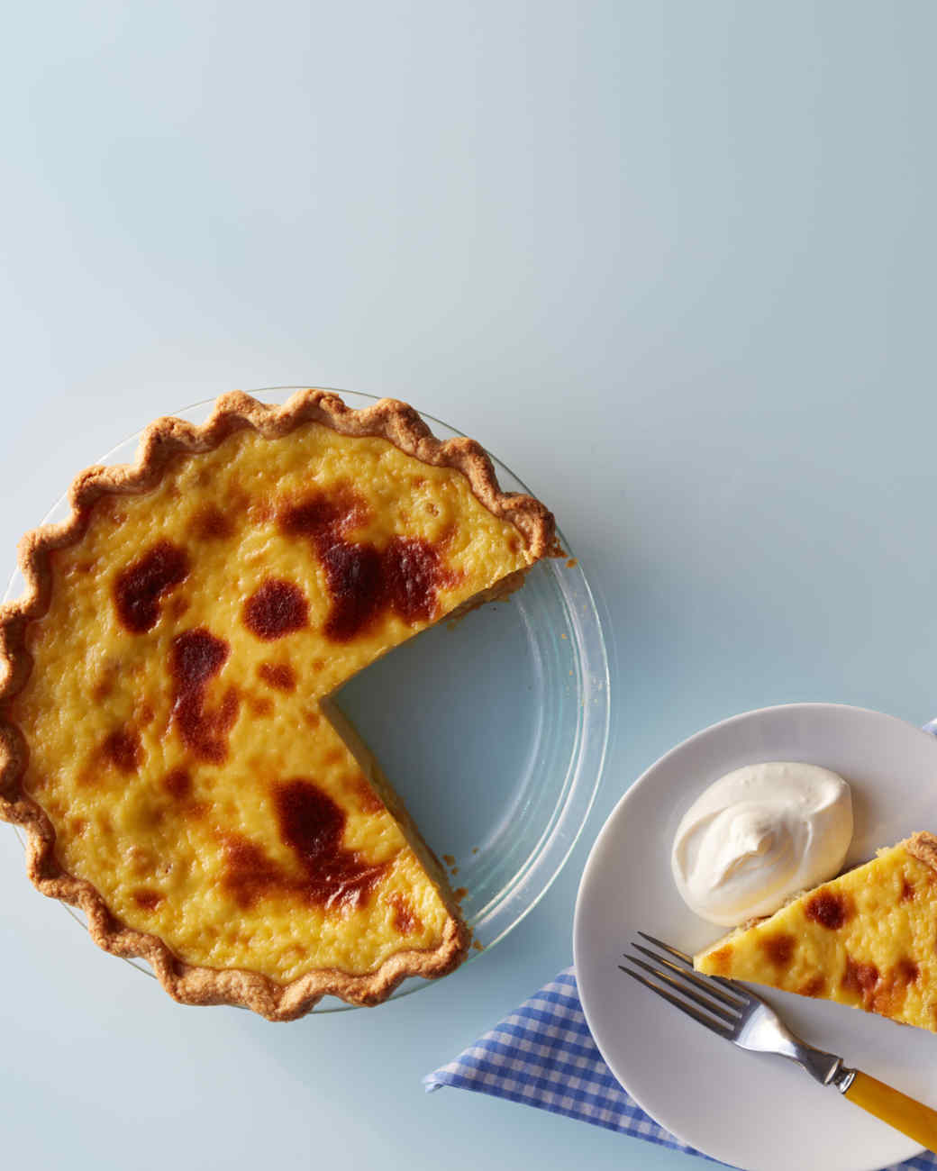 Rum-Raisin Pie