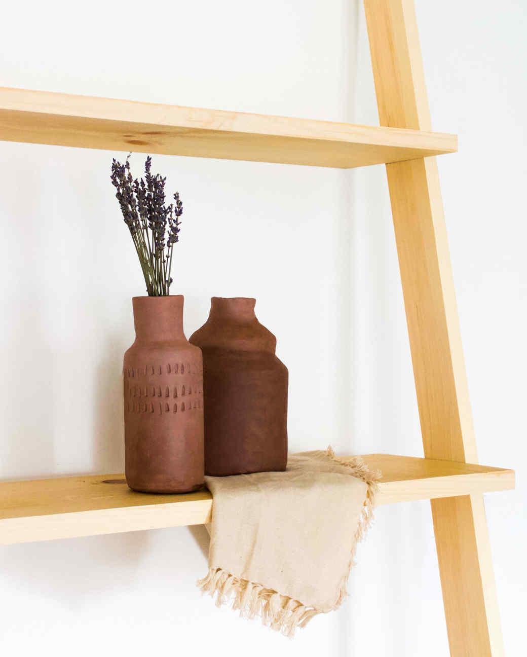 Air-Dry Clay Vase