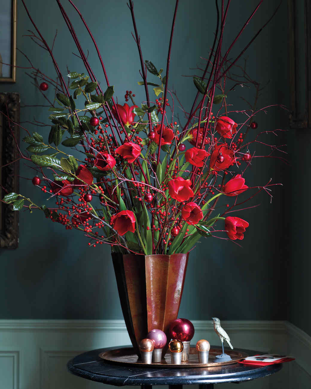 Winter flower arrangements martha stewart - Best dried flower arrangements a colorful winter ...