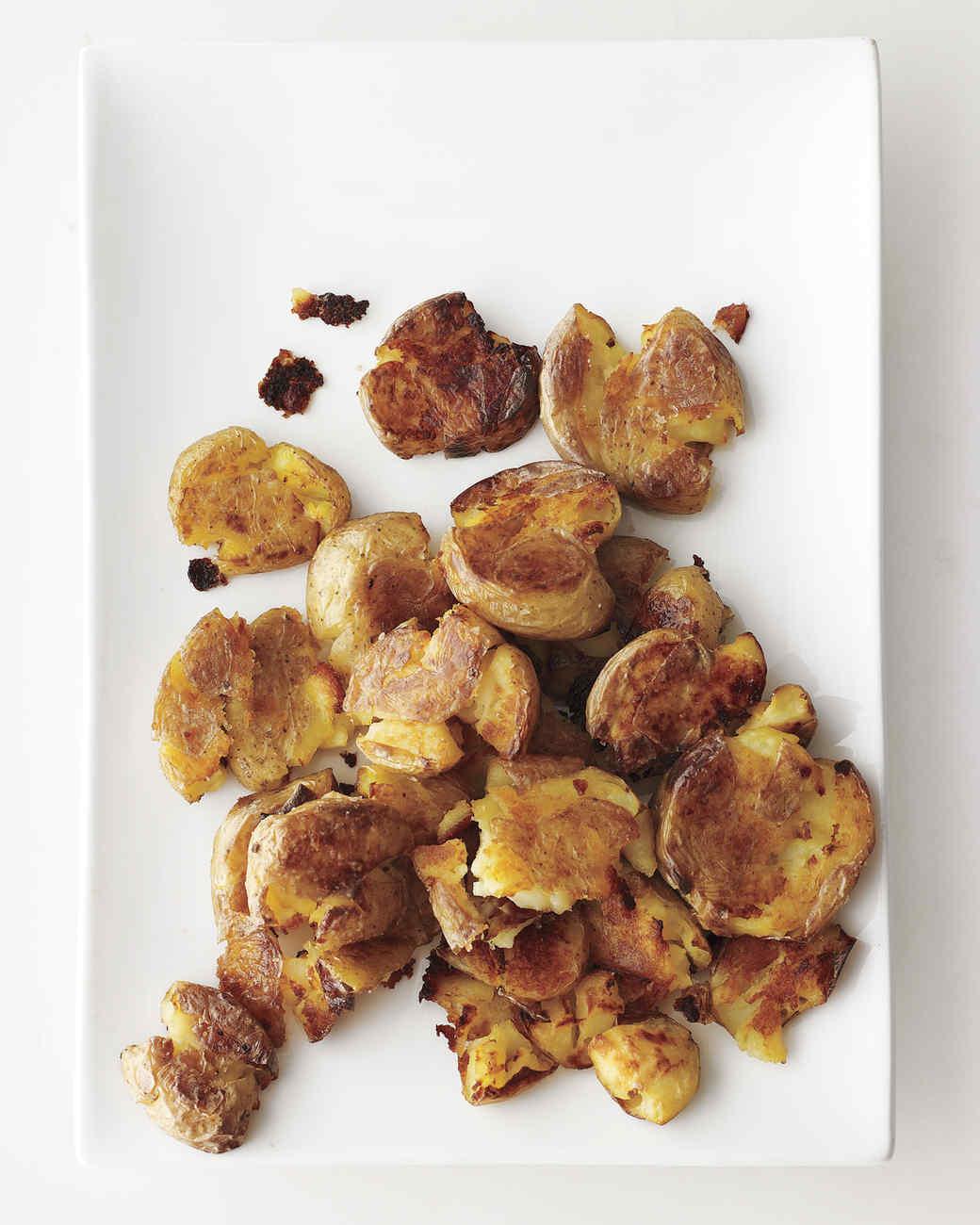 Sarah's Smashed Potatoes