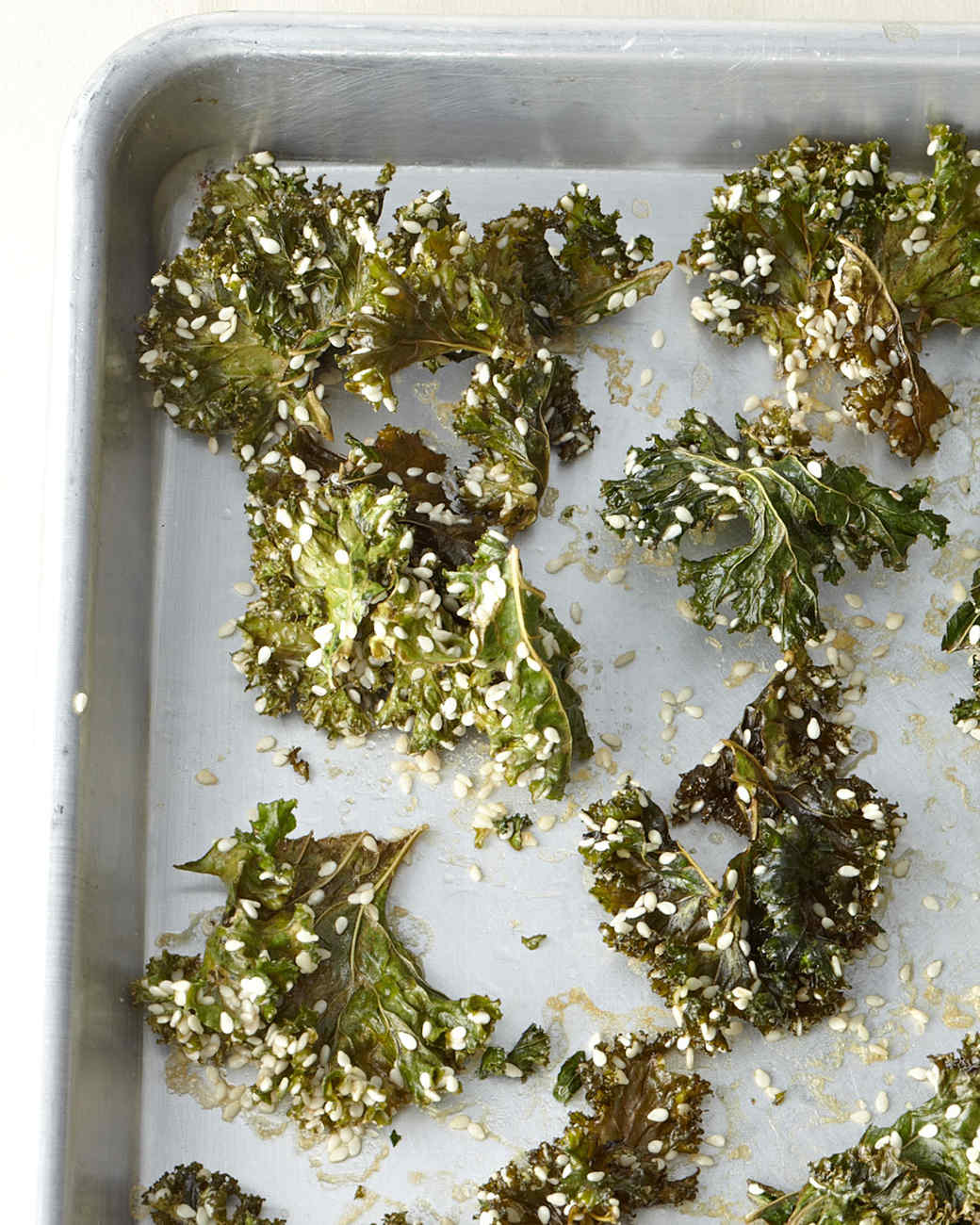 Sesame Kale Crisps