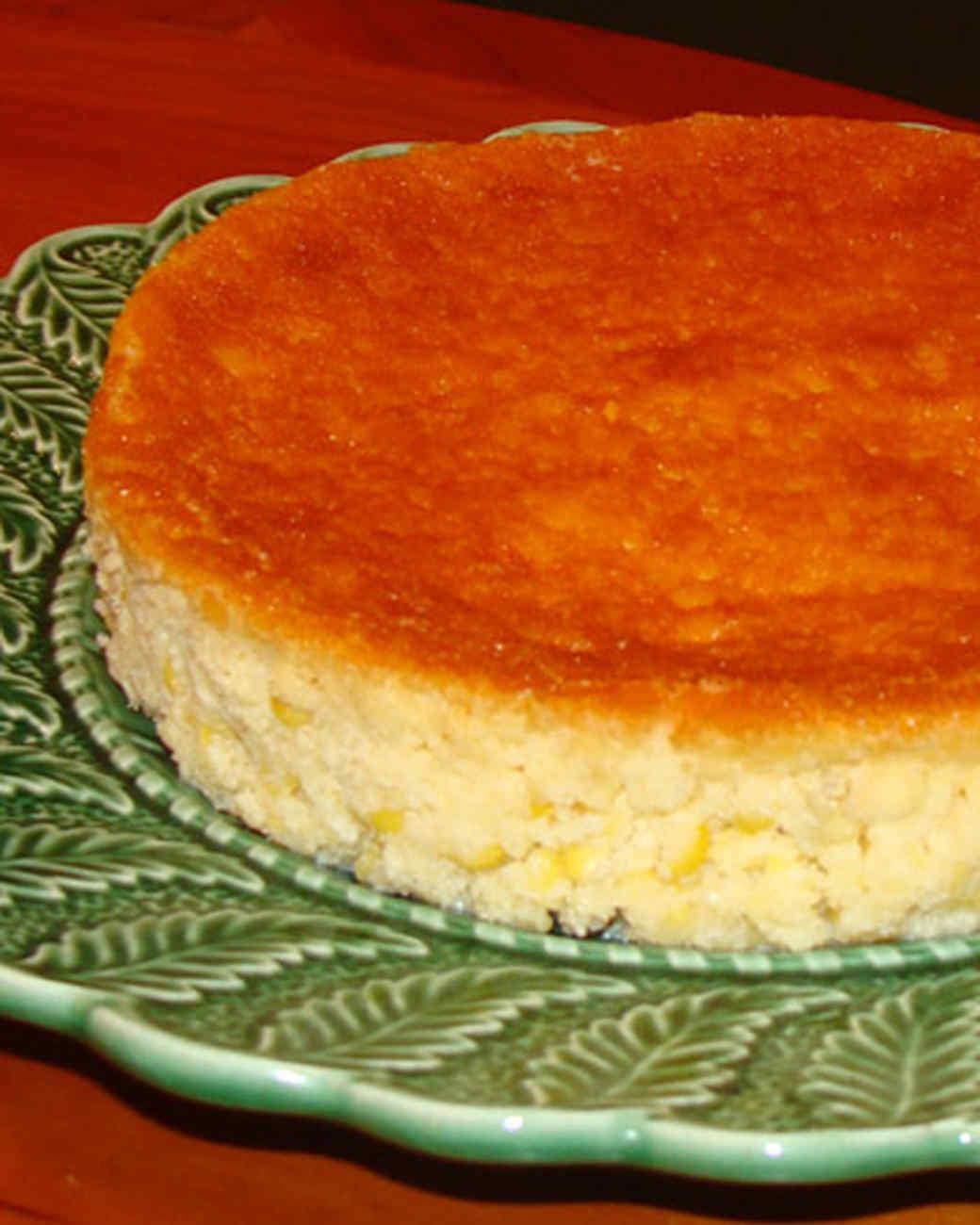 Mario Bosquez's Corn Pudding