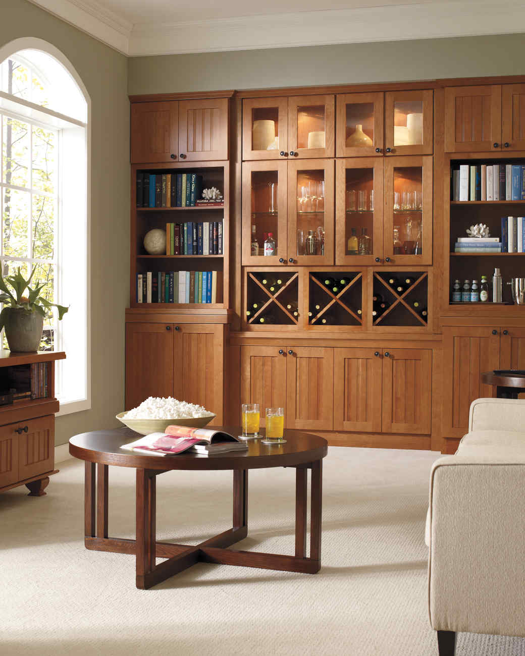 Martha Stewart Living Lily Pond Cabinets