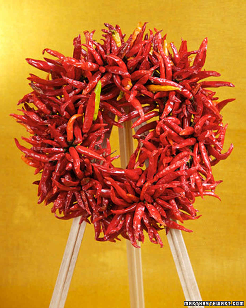 Chile-Pepper Wreath
