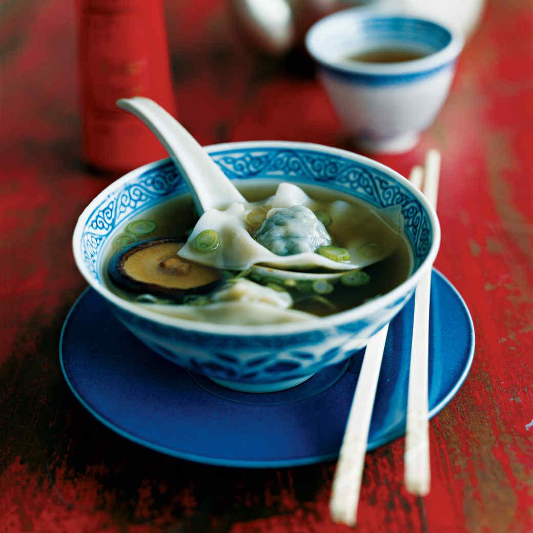 Grandpa Wong's Pork and Bok Choy Wonton Soup