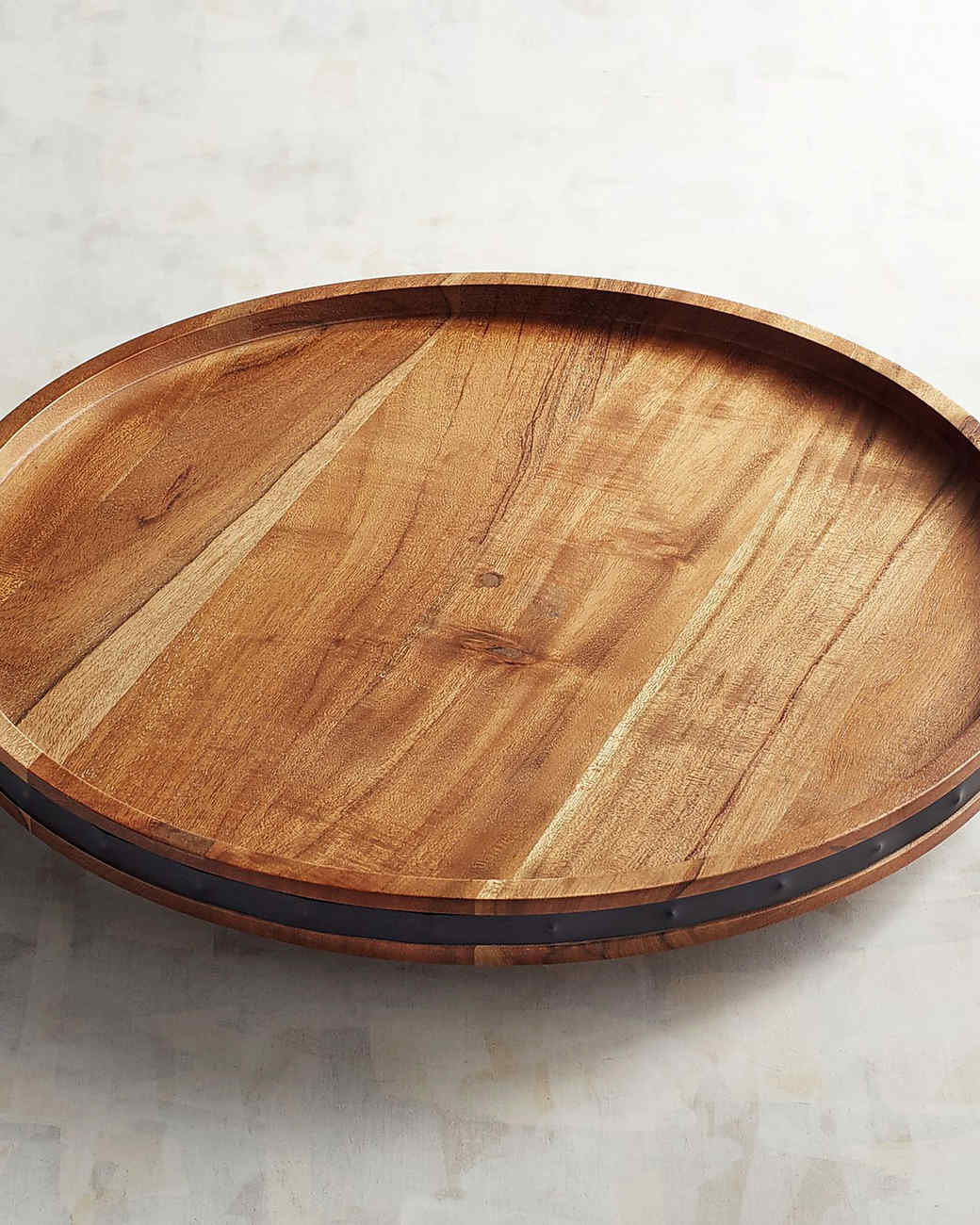 wood lazy susan pier1