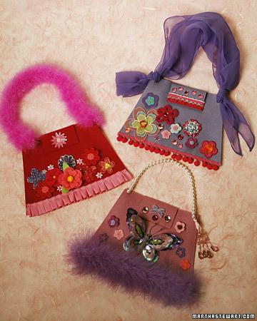 No-Sew, Fancy Kids' Pocketbook
