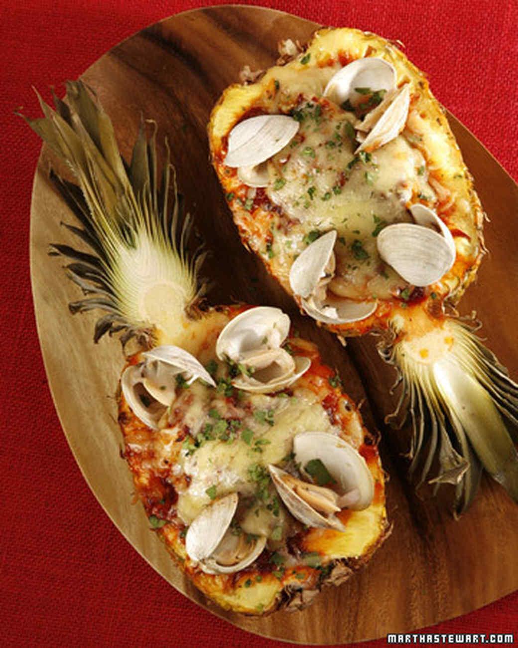 seafood pineapple