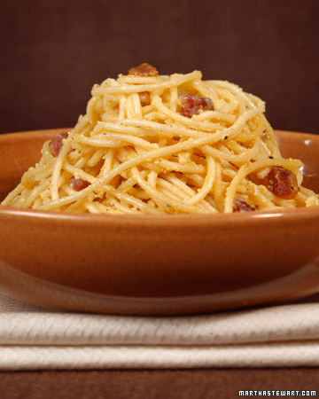 Sfoglia's Spaghetti Carbonara