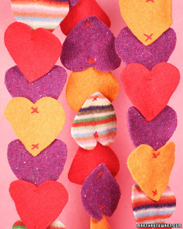Heart-Felted Scarf