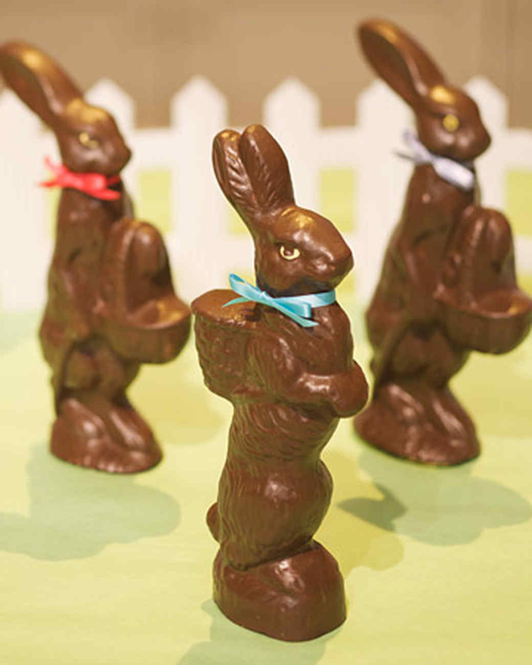 Faux-Chocolate Bunnies