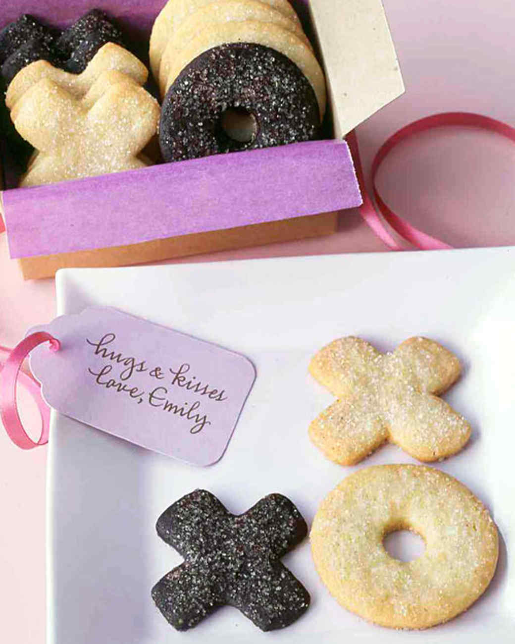 Hugs and Kisses Sugar Cookies