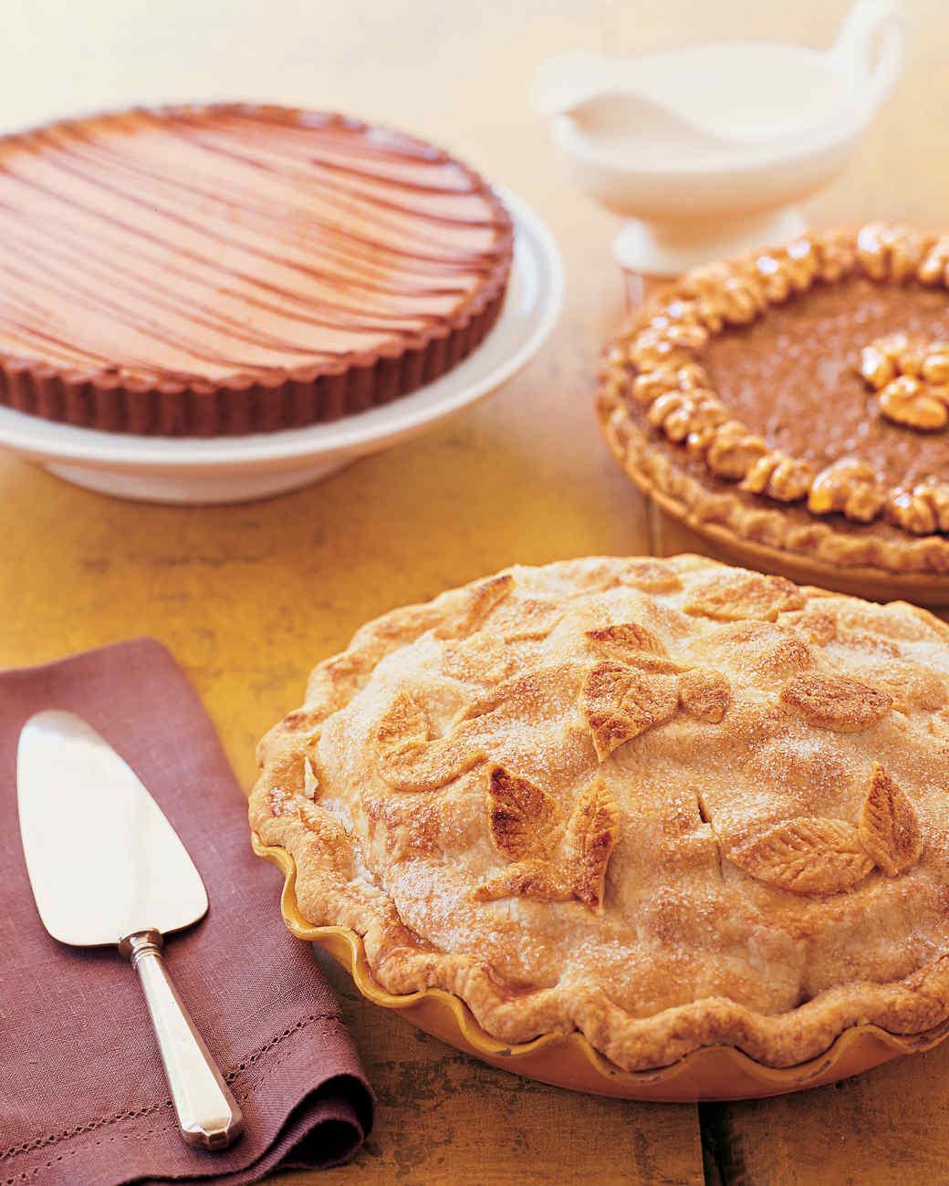 Chai-Spice Apple Pie