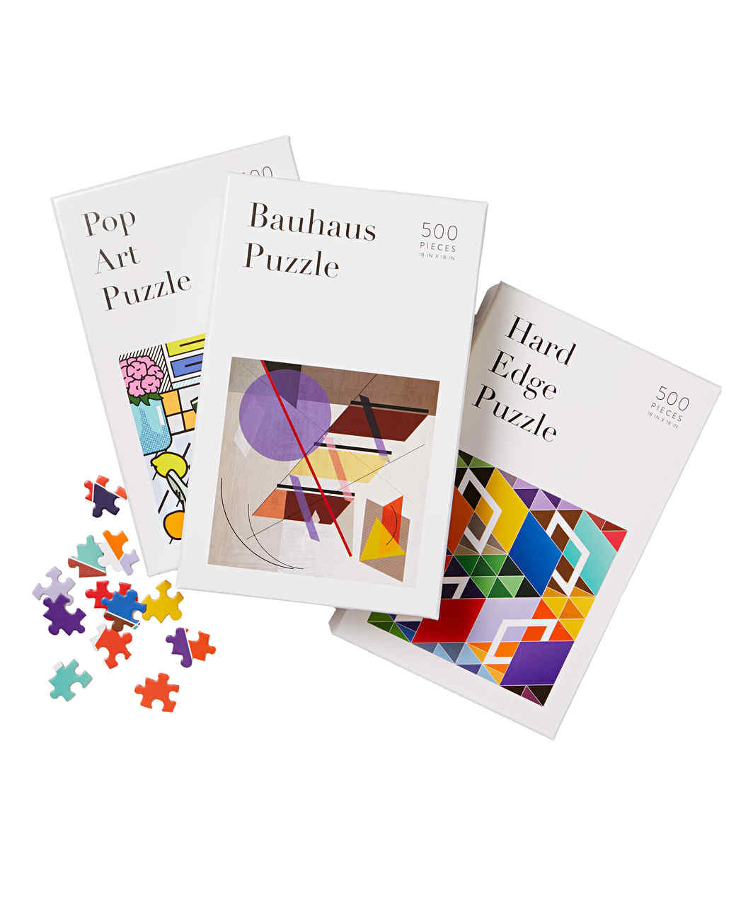artsy puzzles set gift guide 2017 home