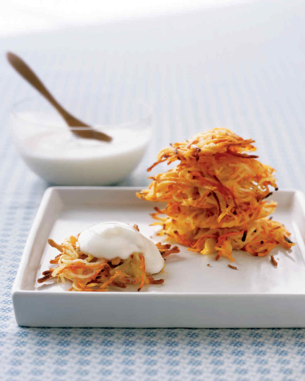 Carrot-and-Potato Latkes