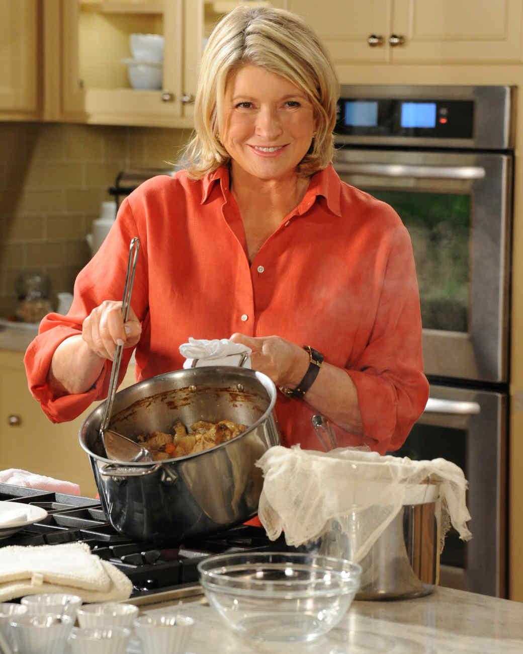 Martha's Homemade Stock Recipes