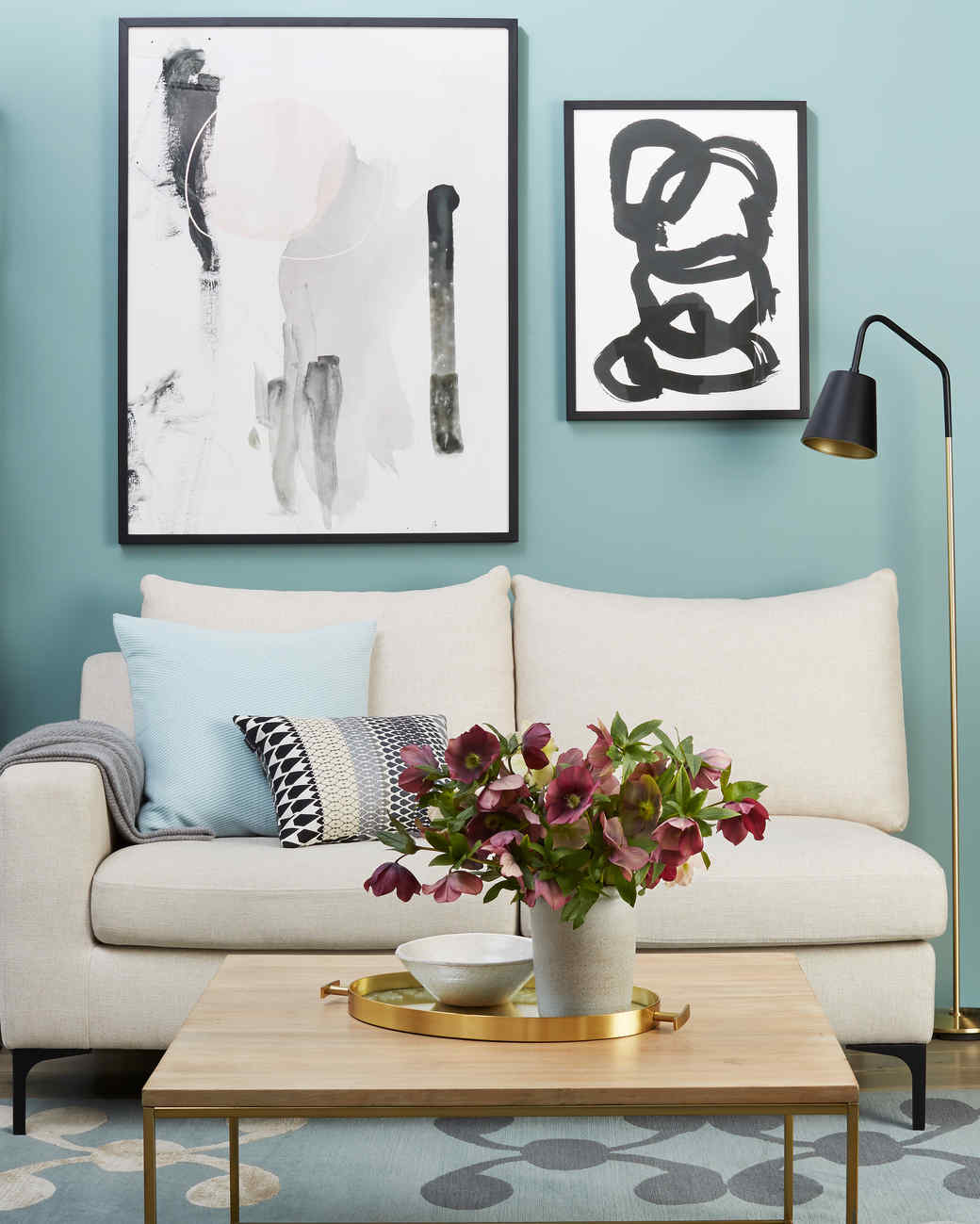 See How Paint Dramatically Transforms This Living Room | Martha Stewart