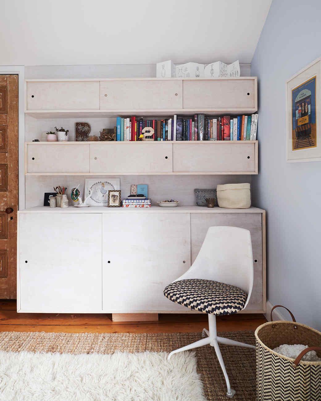 built in cabinets in bedroom
