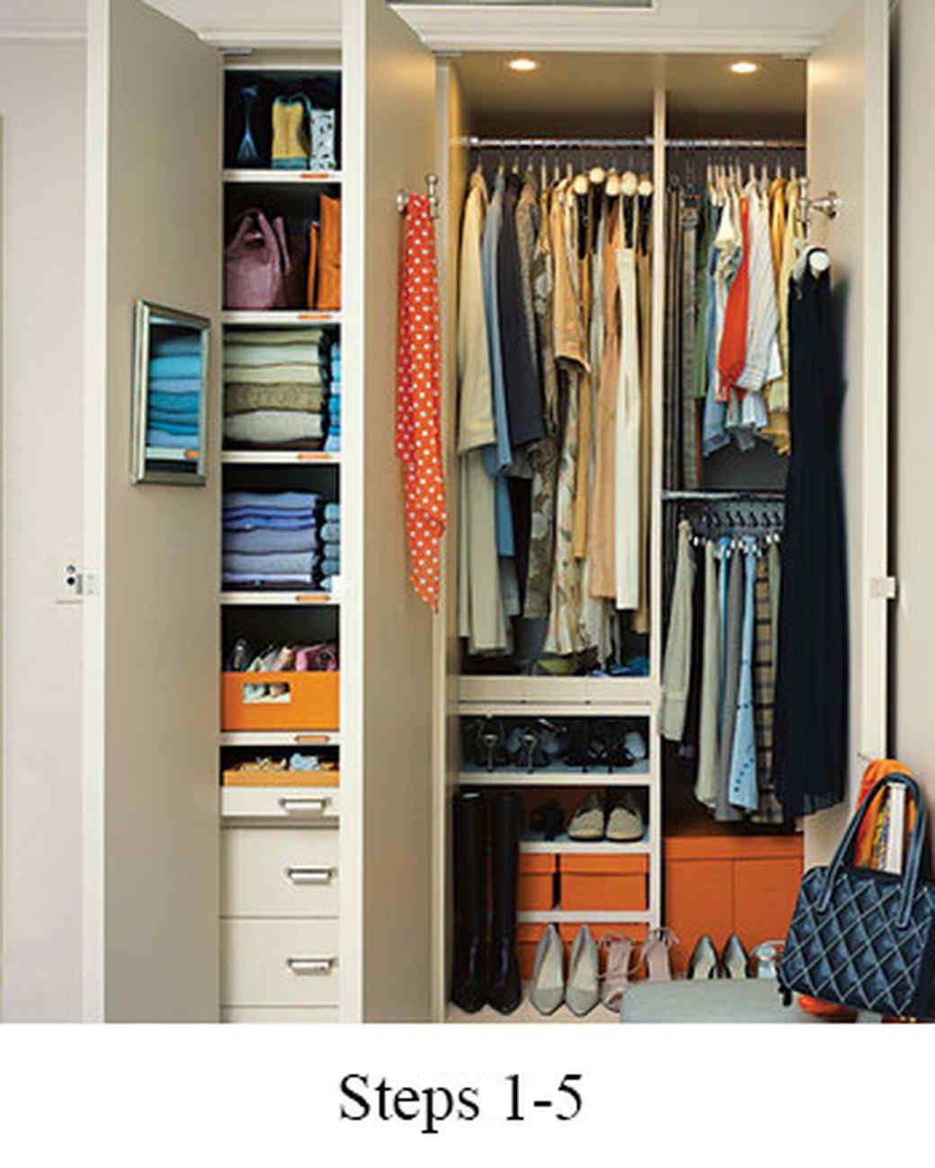 Closet Steps