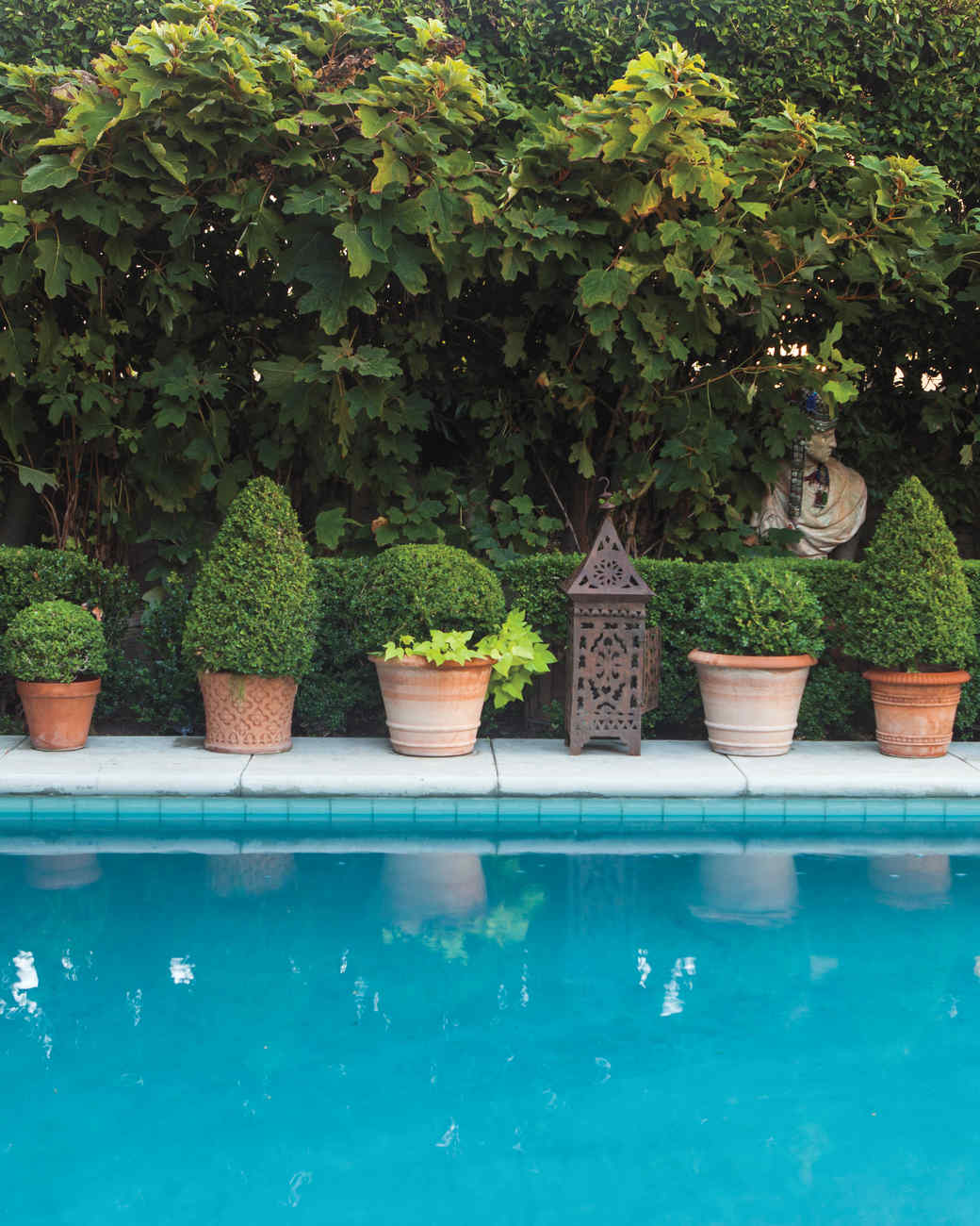 Decorative flowerpots and planters martha stewart for Garden pools for sale