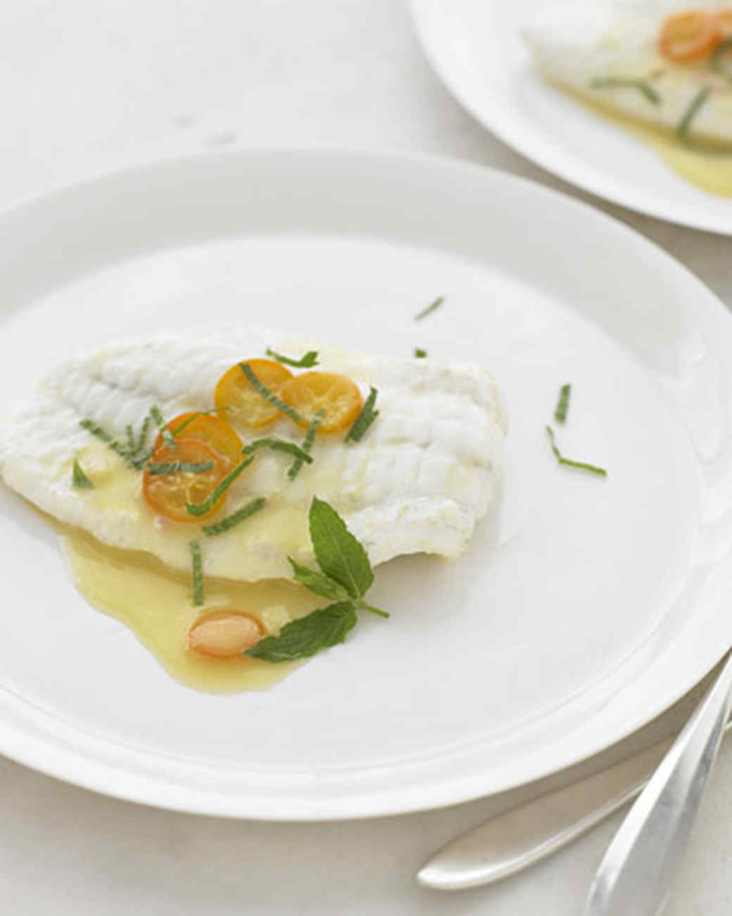 Shallow-Poached Fish Fillets