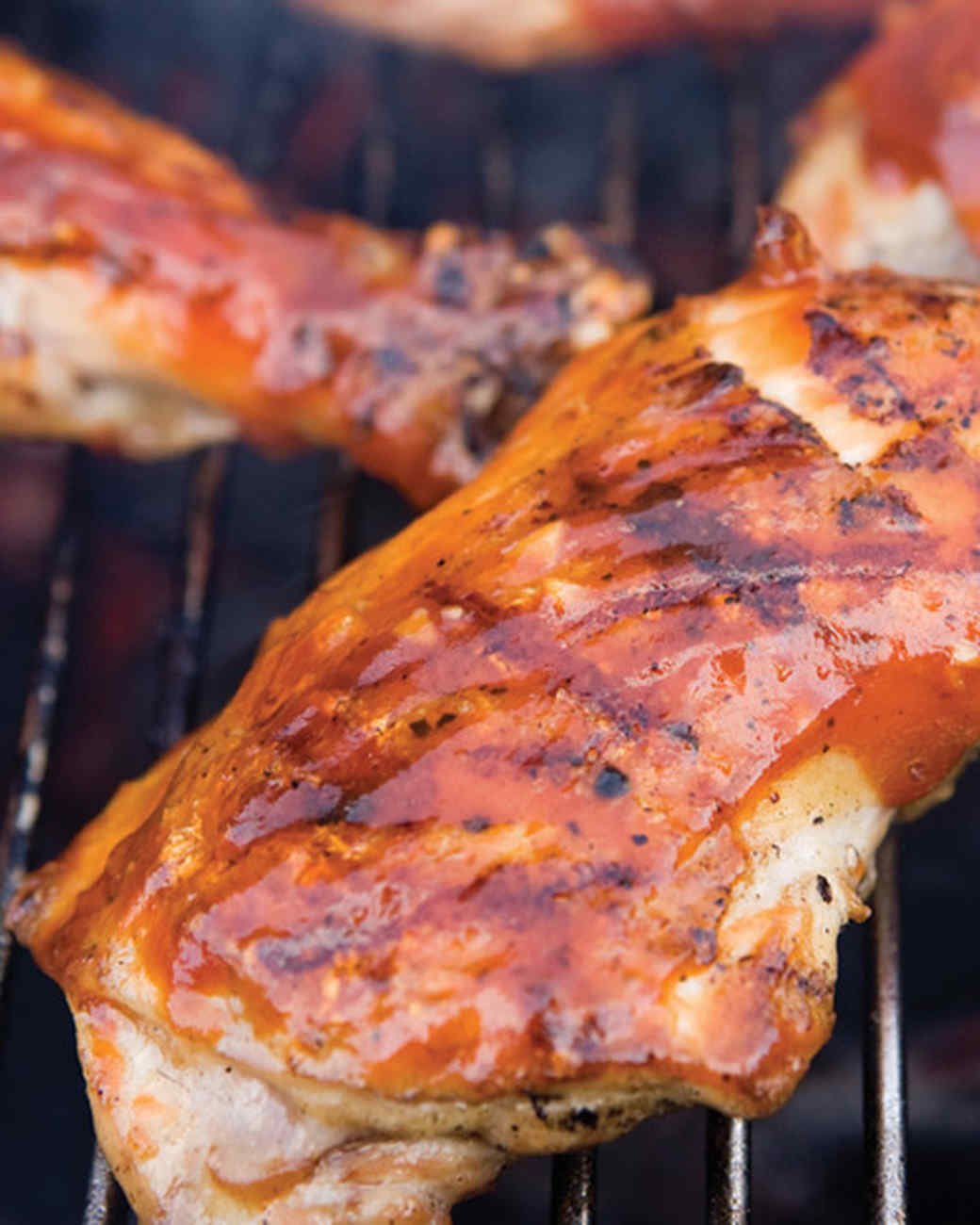 Backyard Barbecued Chicken with Homemade BBQ Sauce Recipe ...