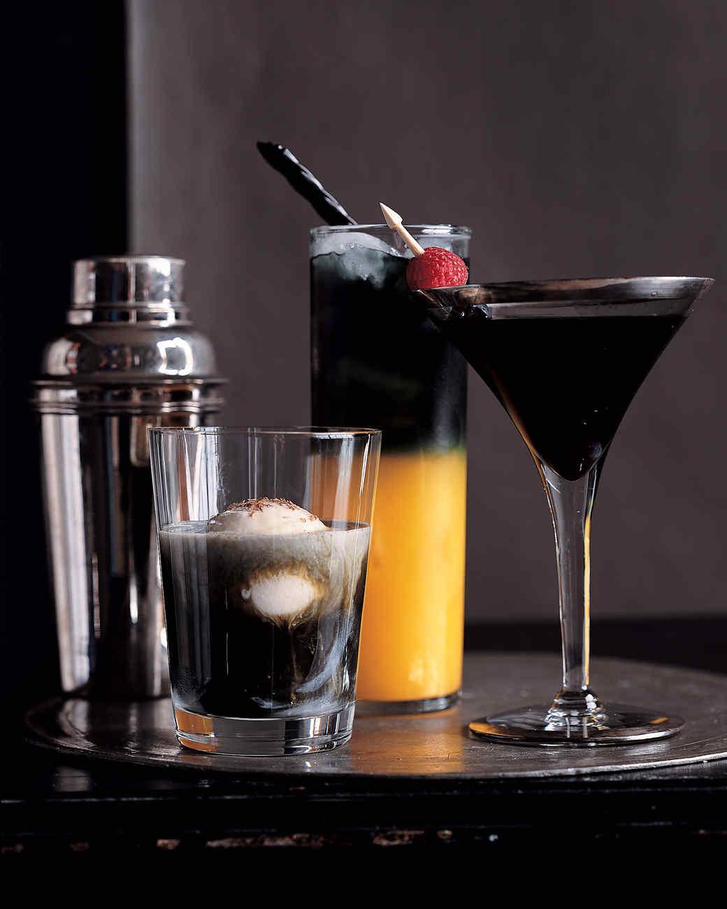 Amazing Halloween Party Cocktail Ideas Part - 5: Martha Stewart