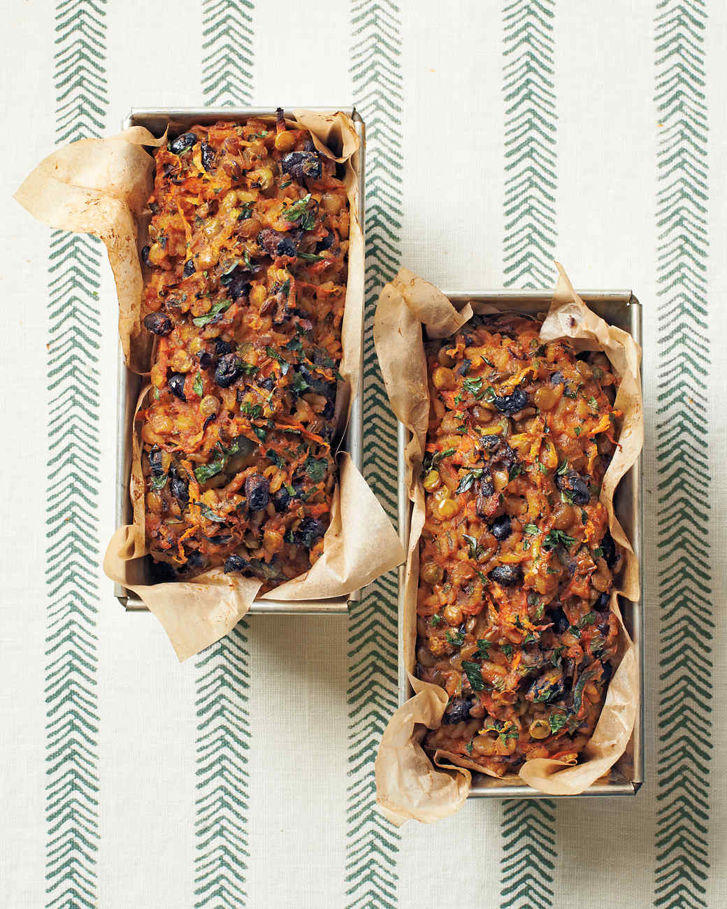 Curried Lentil-and-Rice Loaves