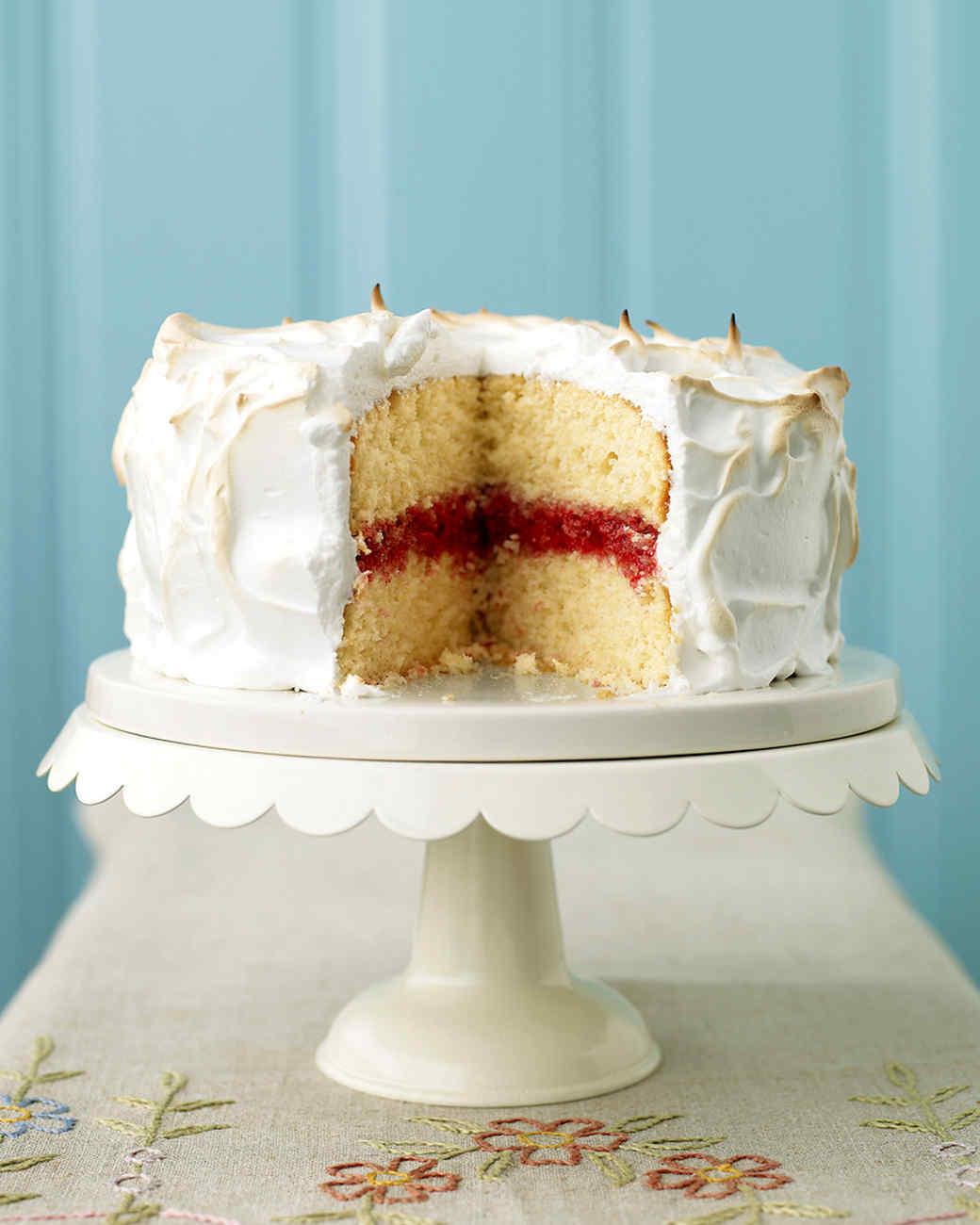 Classic Yellow Cake Martha Stewart
